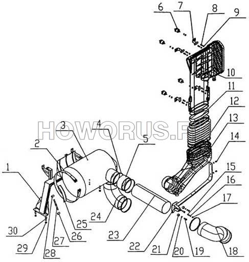 Система воздушного фильтра