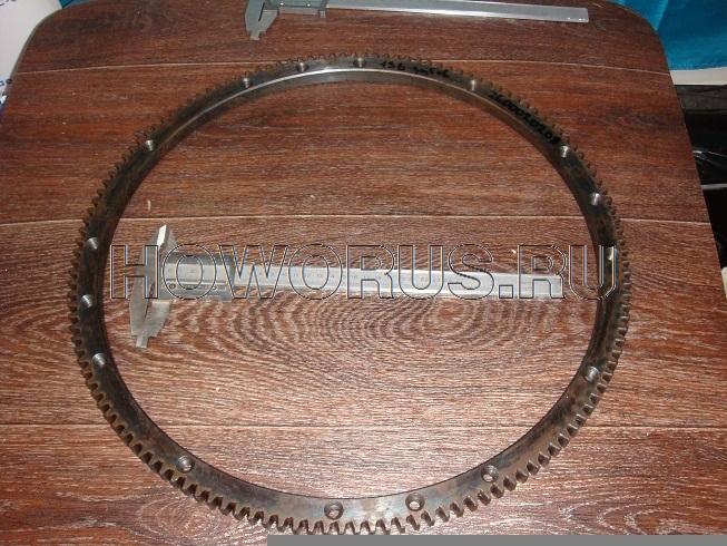 Венец маховика 136 зуб VG 2600020208