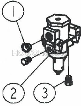 Регулятор воздушного фильтра JS160 SHACMAN